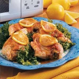 Mustard Chicken Breasts Recipe