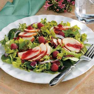 Raspberry Chicken Salad Recipe