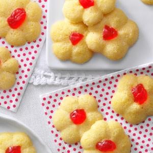 Italian Cornmeal Spritz Cookies Recipe
