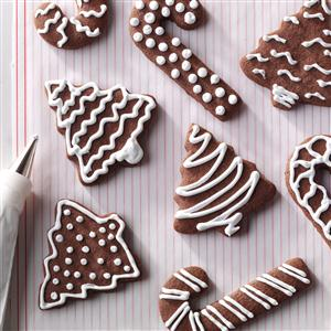 Chocolate Cutout Cookies Recipe