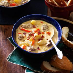 Bacon-Cheeseburger Chowder Recipe