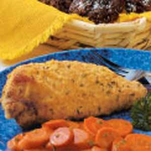 Light Oven-Fried Chicken Recipe