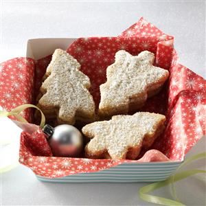 Pecan Cutout Cookies Recipe