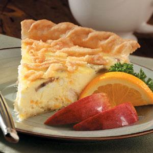 Buttery Crab Quiche Recipe