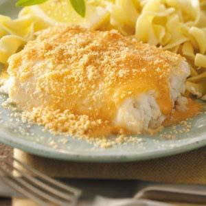 Crumb-Topped Haddock Recipe