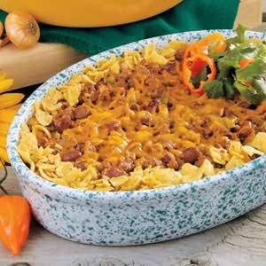 Western Chili Casserole Recipe