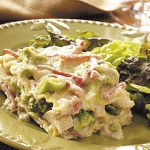 Broccoli Chicken Lasagna Recipe