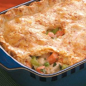 Home-Style Chicken Potpie Recipe