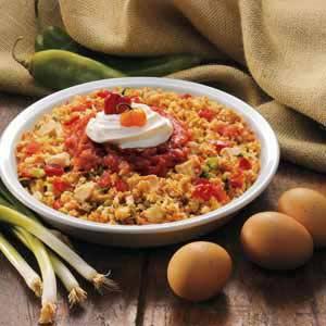 Fiesta Chicken 'N' Stuffing Recipe