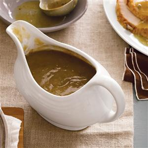 Giblet Turkey Gravy Recipe