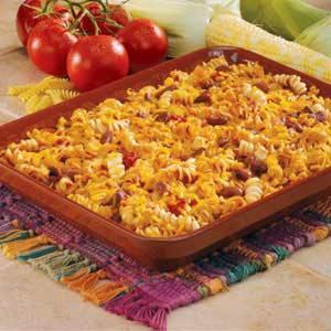 Meatless Chili Bake Recipe