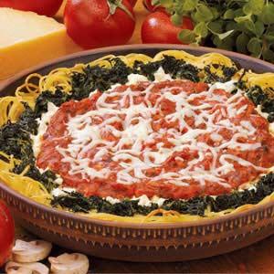 Pizza Pasta Pie Recipe