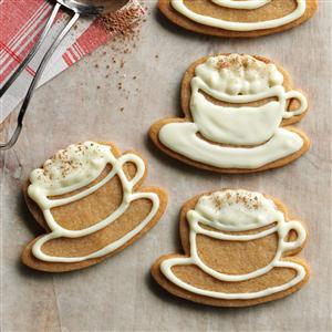 White Chocolate-Cappuccino Cookies Recipe