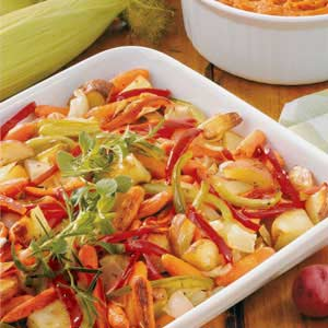 Oven-Roasted Veggies Recipe