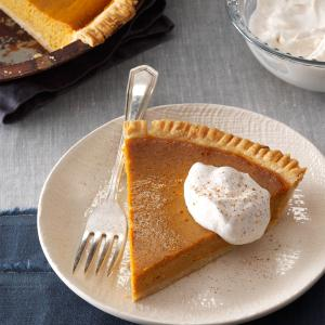 Gingery Pumpkin Pie Recipe