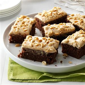 Chocolate-Peanut Butter Sheet Cake Recipe