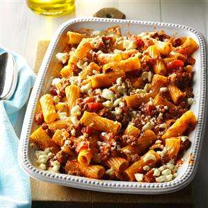 Greek Pasta Bake Recipe