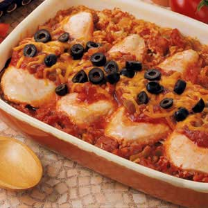 Spanish chicken recipe taste of home spanish chicken recipe forumfinder Images