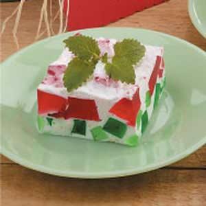 Watermelon Gelatin Dessert Recipe