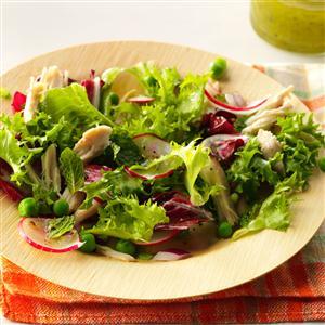 Spring Chicken and Pea Salad Recipe