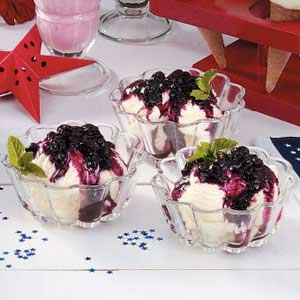 Blueberry Ice Cream Topping Recipe