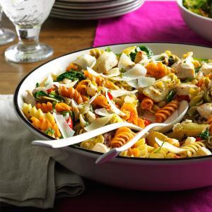 Mediterranean Chicken Pasta Recipe