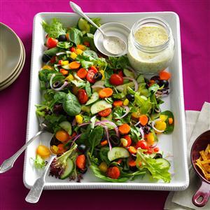 Rainbow Veggie Salad Recipe