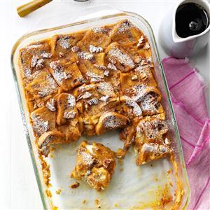 Overnight Pumpkin French Toast Casserole Recipe