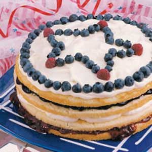 Stars and Stripes Torte Recipe