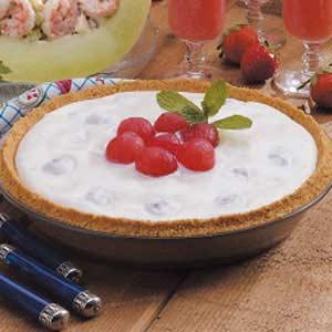 Creamy Watermelon Pie Recipe