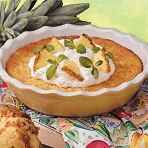Crustless Pineapple Pie Recipe