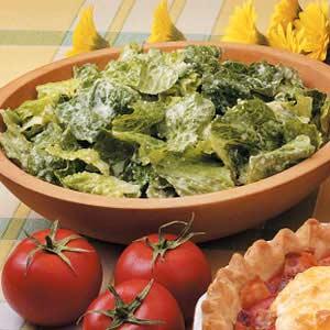 Simple Mock Caesar Salad