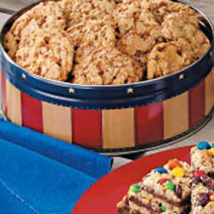 Toffee Oat Cookies Recipe