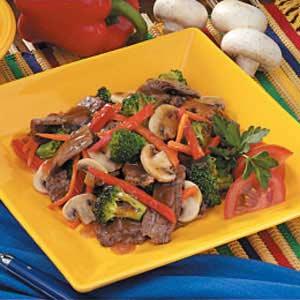 Flank Steak Stir-Fry Recipe