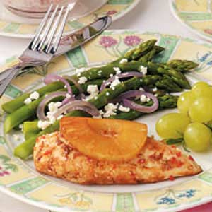 Feta-Topped Asparagus Recipe
