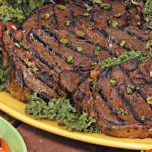 Marinated Grilled Ribeye Steaks Recipe