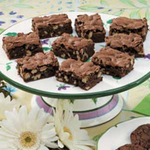 Moist Walnut Brownies Recipe