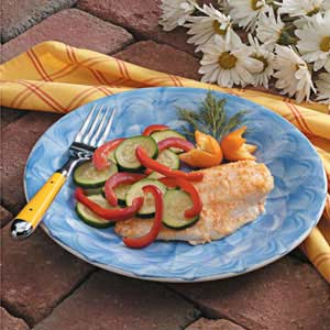 Orange Roughy Bundles Recipe