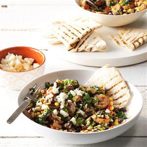 Chorizo Burrito Bowls Recipe
