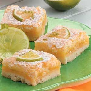 Lime Cooler Bars Recipe