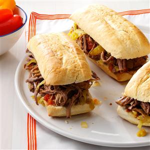 Family-Favorite Italian Beef Sandwiches Recipe