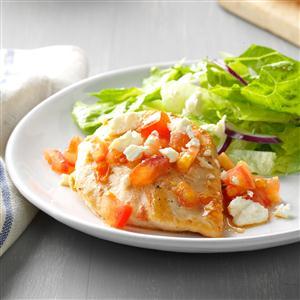 Caesar Chicken with Feta Recipe