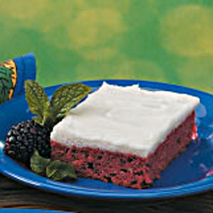 Frosted Blackberry Cake Recipe Taste Of Home