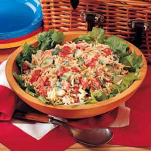 Vegetable Cheese Salad Recipe