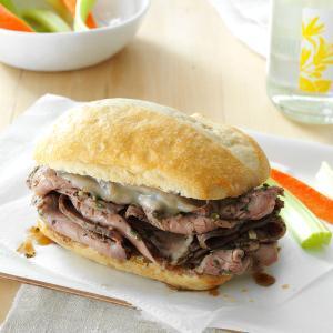 Italian Steak Sandwiches Recipe