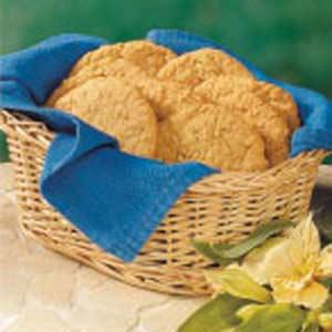 Coconut Oatmeal Crispies