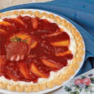 Nectarine Cream Pie Recipe