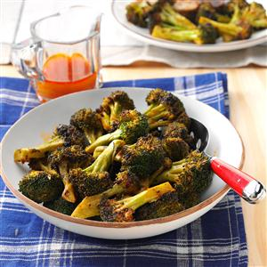 Spicy Grilled Broccoli Recipe