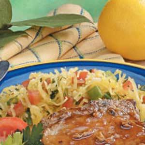Spaghetti Squash with Tomatoes Recipe