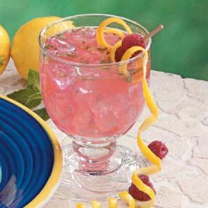 Minted Raspberry Lemonade Recipe